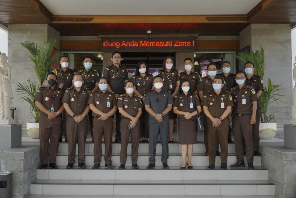 Inspeksi Pemantauan Oleh Tim Pengawasan Kejaksaan Tinggi Bali