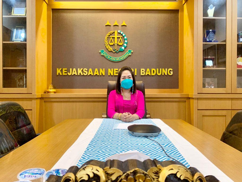 Kegiatan Vidcon Memperingati 3 Tahun Kepemimpinan Gubernur dan Wakil Gubernur Bali periode tahun 2018 - 2023